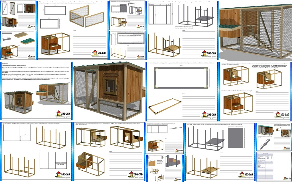 12 chicken coop plans and free 12 x 12 chicken coop plans for How to build a movable chicken coop